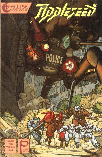 Cover for Appleseed (Eclipse, 1988 series) #v2#4