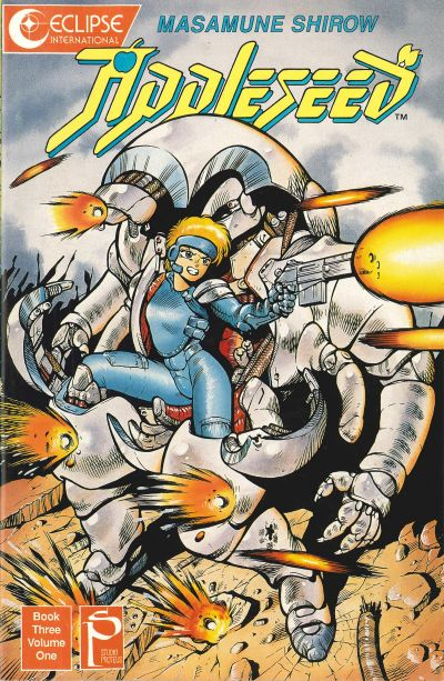 Cover for Appleseed (Eclipse, 1988 series) #v3#1