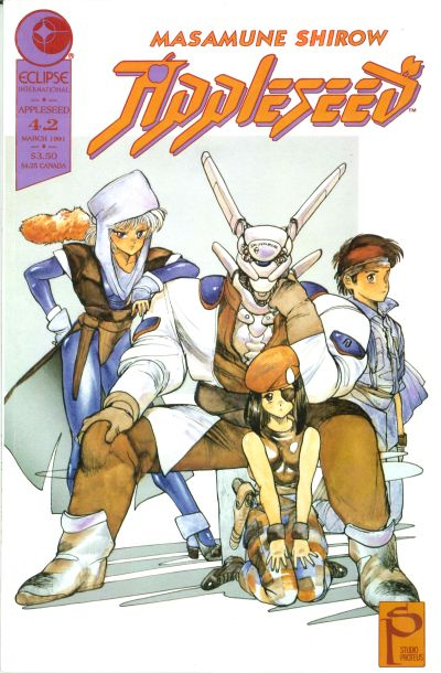 Cover for Appleseed (Eclipse, 1988 series) #v4#2