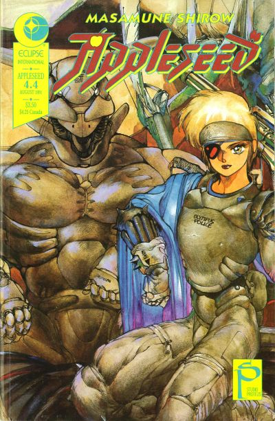 Cover for Appleseed (Eclipse, 1988 series) #v4#4