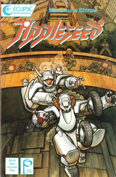 Cover for Appleseed (Eclipse, 1988 series) #v2#2