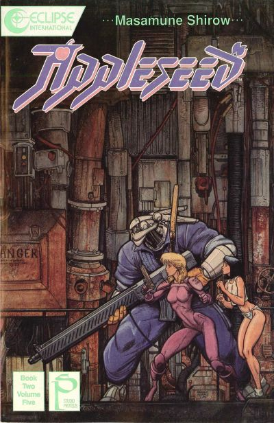 Cover for Appleseed (Eclipse, 1988 series) #v2#5
