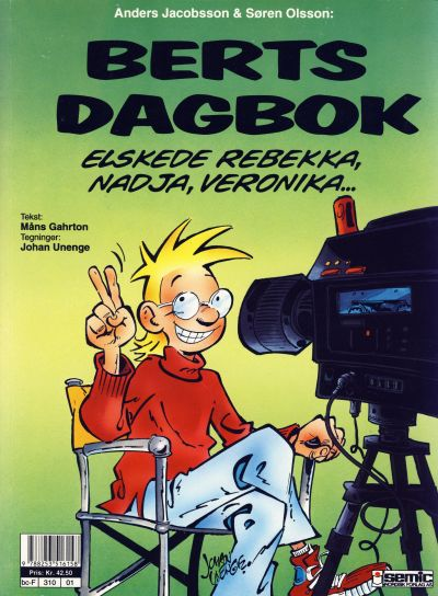 Cover for Berts dagbok (Semic, 1994 series)