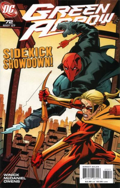 Cover for Green Arrow (DC, 2001 series) #72