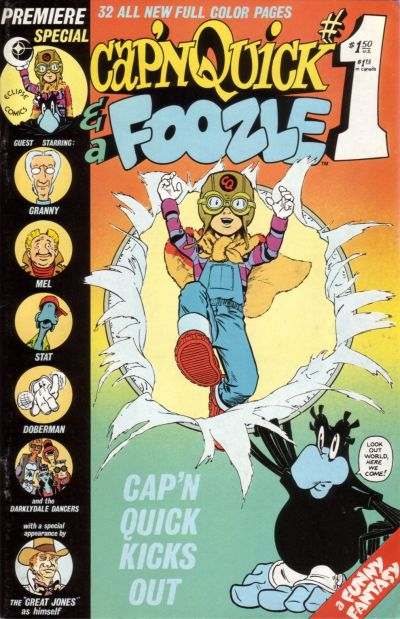 Cover for Cap'n Quick & a Foozle (Eclipse, 1984 series) #1