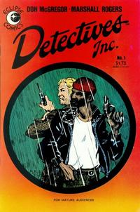 Cover Thumbnail for Detectives Inc. (Eclipse, 1985 series) #1