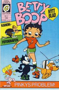 Cover Thumbnail for Betty Boop (Gevion, 1986 series) #2/1986