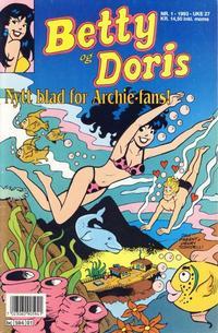 Cover Thumbnail for Betty og Doris (Semic, 1993 series) #1/1993