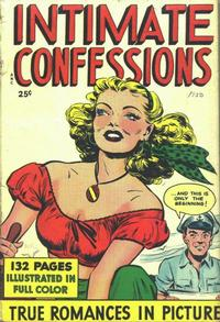 Cover Thumbnail for Intimate Confessions (Fox, 1950 series)