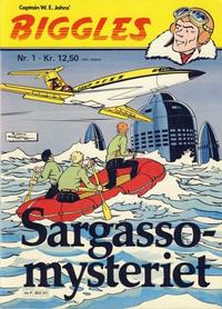 Cover Thumbnail for Biggles (Semic, 1978 series) #1 - Sargasso-mysteriet