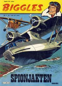 Cover Thumbnail for Biggles (Semic, 1978 series) #3 - Spionjakten