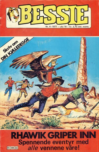 Cover for Bessie (Semic, 1977 series) #4/1977
