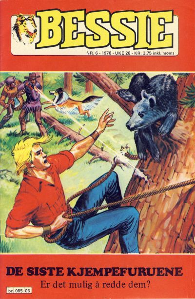 Cover for Bessie (Semic, 1977 series) #6/1978