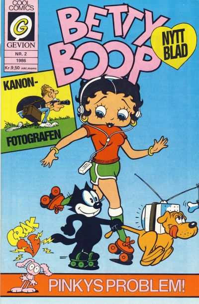 Cover for Betty Boop (Gevion, 1986 series) #2/1986