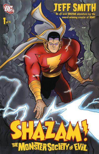 Cover for Shazam! The Monster Society of Evil (DC, 2007 series) #1