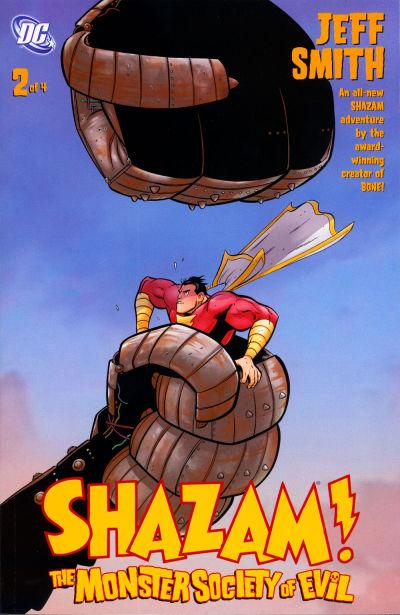 Cover for Shazam! The Monster Society of Evil (DC, 2007 series) #2