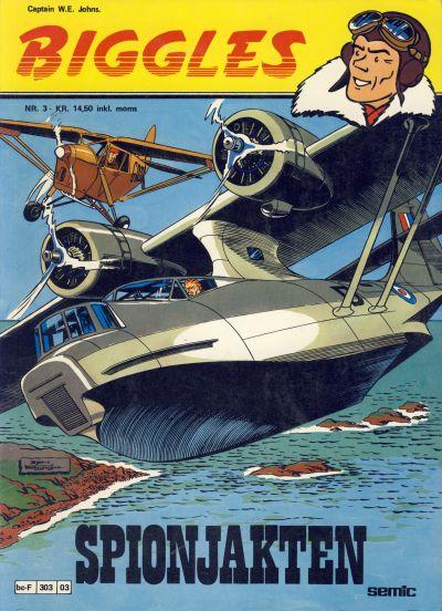 Cover for Biggles (Semic, 1978 series) #3 - Spionjakten