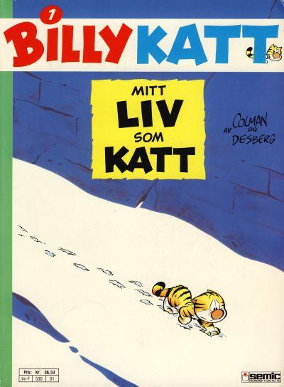 Cover for Billy Katt (Semic, 1991 series) #1 - Mitt liv som katt