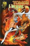 Cover for Tomoe-Witchblade: Fire Sermon (Crusade Comics, 1996 series) #1
