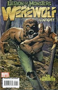 Cover Thumbnail for Legion of Monsters: Werewolf by Night (Marvel, 2007 series) #1