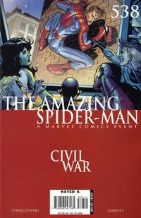 Cover Thumbnail for The Amazing Spider-Man (Marvel, 1999 series) #538 [Direct Edition]
