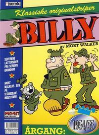 Cover Thumbnail for Billy Klassiske originalstriper (Semic, 1989 series) #1954/55