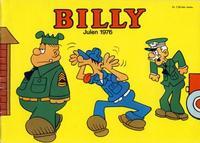 Cover Thumbnail for Billy julehefte (Hjemmet / Egmont, 1970 series) #1976