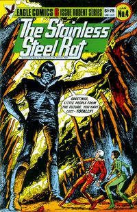 Cover Thumbnail for The Stainless Steel Rat (Eagle Comics, 1985 series) #4