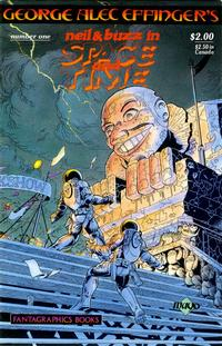 Cover Thumbnail for Neil and Buzz in Space and Time (Fantagraphics, 1989 series) #1