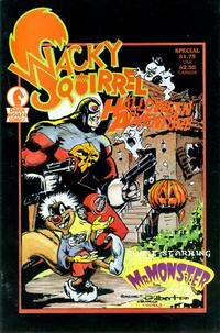 Cover Thumbnail for Wacky Squirrel Halloween Adventure Special (Dark Horse, 1987 series)