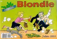 Cover Thumbnail for Blondie (Hjemmet / Egmont, 1997 series) #2003