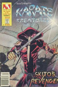 Cover Thumbnail for Karate Kreatures! The Legend of the Golden Sash (MA Comics, 1988 series) #2