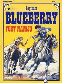 Cover Thumbnail for Blueberry (Hjemmet / Egmont, 1977 series) #1 - Fort Navajo