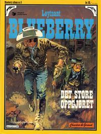 Cover Thumbnail for Blueberry (Hjemmet / Egmont, 1977 series) #5 - Det store oppgjøret