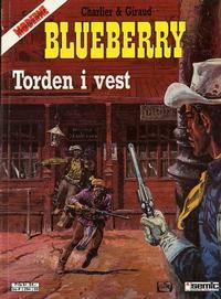 Cover Thumbnail for Blueberry (Semic, 1988 series) #2 - Torden i vest