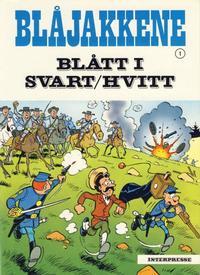 Cover Thumbnail for Blåjakkene (Interpresse, 1979 series) #1 - Blått i svart/hvitt