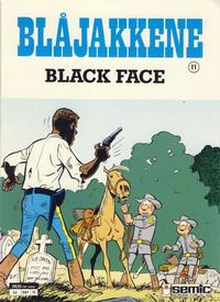 Cover Thumbnail for Blåjakkene (Semic, 1987 series) #11 - Black Face