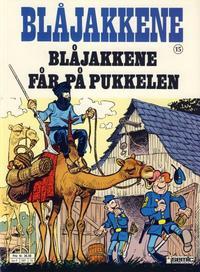 Cover Thumbnail for Blåjakkene (Semic, 1987 series) #15 - Blåjakkene får på pukkelen