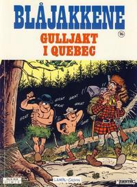 Cover Thumbnail for Blåjakkene (Semic, 1987 series) #16 - Gulljakt i Quebec