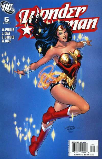 Cover for Wonder Woman (DC, 2006 series) #5