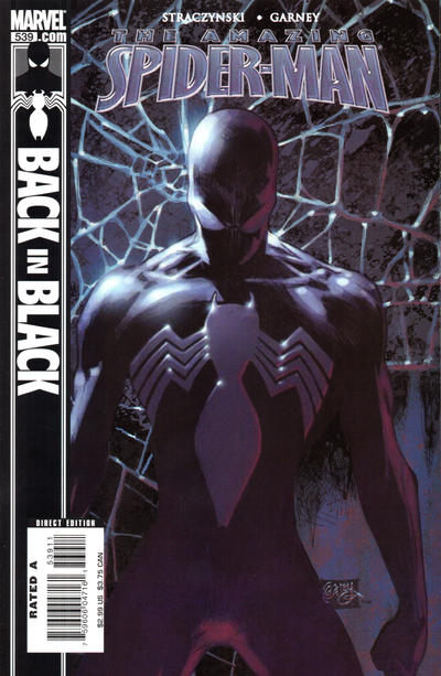 Cover for The Amazing Spider-Man (Marvel, 1999 series) #539 [2nd Printing Variant]