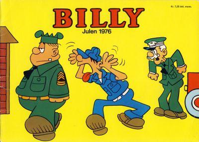 Cover for Billy julehefte (Hjemmet / Egmont, 1970 series) #1976
