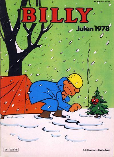 Cover for Billy julehefte (Hjemmet, 1970 series) #1978