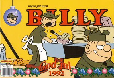 Cover for Billy julehefte (Hjemmet / Egmont, 1970 series) #1992