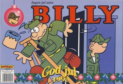 Cover for Billy julehefte (Hjemmet, 1970 series) #1993