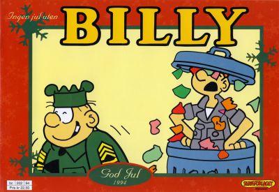 Cover for Billy julehefte (Hjemmet / Egmont, 1970 series) #1994