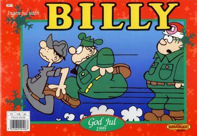 Cover for Billy julehefte (Hjemmet / Egmont, 1970 series) #1995