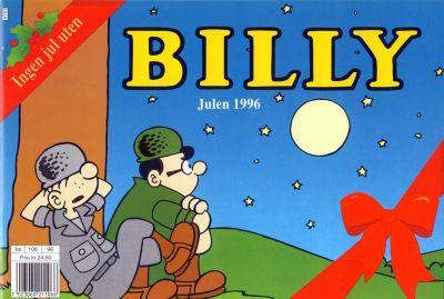 Cover for Billy julehefte (Hjemmet / Egmont, 1970 series) #1996