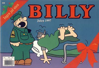 Cover for Billy julehefte (Hjemmet / Egmont, 1970 series) #1997