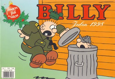 Cover for Billy julehefte (Hjemmet / Egmont, 1970 series) #1998